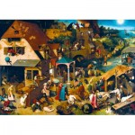 Puzzle   Pieter Bruegel the Elder - Netherlandish Proverbs, 1559
