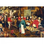 Puzzle   Pieter Brueghel the Younger - Peasant Wedding Feast