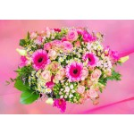 Puzzle   Pink Bouquet of Roses