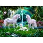 Puzzle   Rainbow Unicorn Family