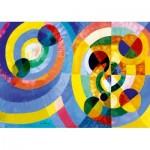 Puzzle   Robert Delaunay - Circular Forms, 1930