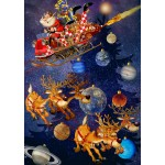 Puzzle   Santa Claus is arriving!