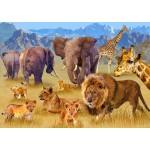 Puzzle   Savannah Animals