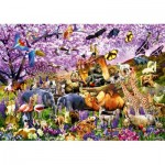 Puzzle   Two By Two at Noah's Ark