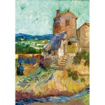 Puzzle   Vincent Van Gogh - La Maison de La Crau (The Old Mill), 1888