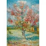 Puzzle   Vincent Van Gogh - Pink Peach Trees (Souvenir de Mauve), 1888