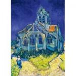 Puzzle   Vincent Van Gogh - The Church in Auvers-sur-Oise, 1890