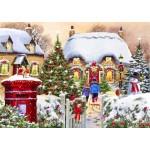 Puzzle   Winter Cottage