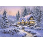 Puzzle   Winter's Blanket Wouldbie Cottage