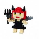 Brixies-38449019 Nano Puzzle 3D - Carte Diable