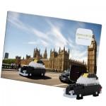 Brixies-38449202 Nano Puzzle 3D - Carte Taxi Londonien