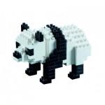 Brixies-57840 Nano Puzzle 3D - Panda