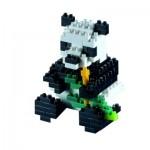 Brixies-57841 Nano Puzzle 3D - Panda