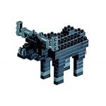 Brixies-57926 Nano Puzzle 3D - Buffle
