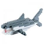 Brixies-58241 Nano Puzzle 3D - Requin