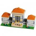 Brixies-58251 Nano Puzzle 3D - Nymphenburg (Level 3)