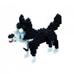 Brixies-58426 Nano Puzzle 3D - Husky