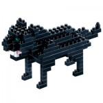 Brixies-58434 Nano Puzzle 3D - Panthère Noire