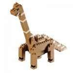 Brixies-58437 Nano Puzzle 3D - Dinosaure