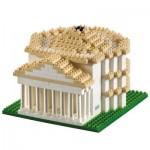Brixies-58648 Nano Puzzle 3D - Panthéon (Level 4)
