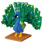 Brixies-58658 Nano Puzzle 3D - Paon