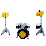 Brixies-58680 Nano Puzzle 3D - Batterie (Level 2)
