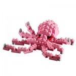 Brixies-58726 Nano Puzzle 3D - Petite Pieuvre