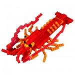 Brixies-58757 Nano Puzzle 3D - Homard
