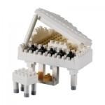 Brixies-58775 Nano Puzzle 3D - Piano à Queue (Level 3)