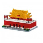 Brixies-58785 Nano Puzzle 3D - Tiananmen Square (Level 4)