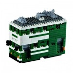 Brixies-58795 Nano Puzzle 3D - Hong Kong Ding-Ding Tram (Level 3)