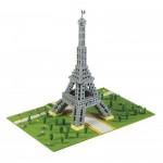 Brixies-58830 Nano Puzzle 3D - Tour Eiffel