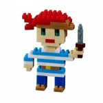 Nano Puzzle 3D - Carte Pirate