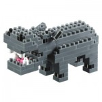 Nano Puzzle 3D - Hippopotame