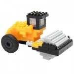 Nano Puzzle 3D - Rouleau Compresseur JCB