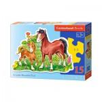Puzzle  Castorland-015023 Le Beau Petit Poulain