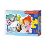 Puzzle  Castorland-015030 Le Petit Chaperon Rouge