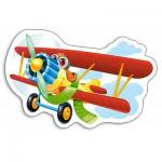Puzzle  Castorland-015092 Avion Rigolo
