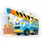 Puzzle  Castorland-015108 Camion Rigolo