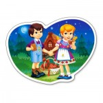 Puzzle  Castorland-015177 Hansel et Gretel