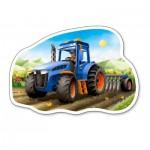 Puzzle  Castorland-015184 Tracteur