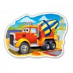 Puzzle  Castorland-015191 Camion Toupie