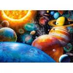 Puzzle  Castorland-018345 Planètes et Lunes