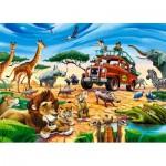 Puzzle  Castorland-018390 Safari Aventure