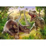 Puzzle  Castorland-018413 Dinosaures