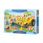 Puzzle  Castorland-02139 Pièces maxi - Bulldozer en action