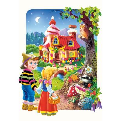 Puzzle Castorland-02153 Pièces Maxi - Hansel et Gretel