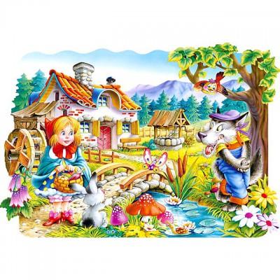 Puzzle Castorland-02160 Pièces Maxi - Le petit chaperon rouge