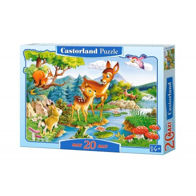 Puzzle Castorland-02177 Pièces Maxi - Bambi