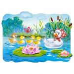 Puzzle  Castorland-02191 Pièces Maxi - Le vilain petit canard